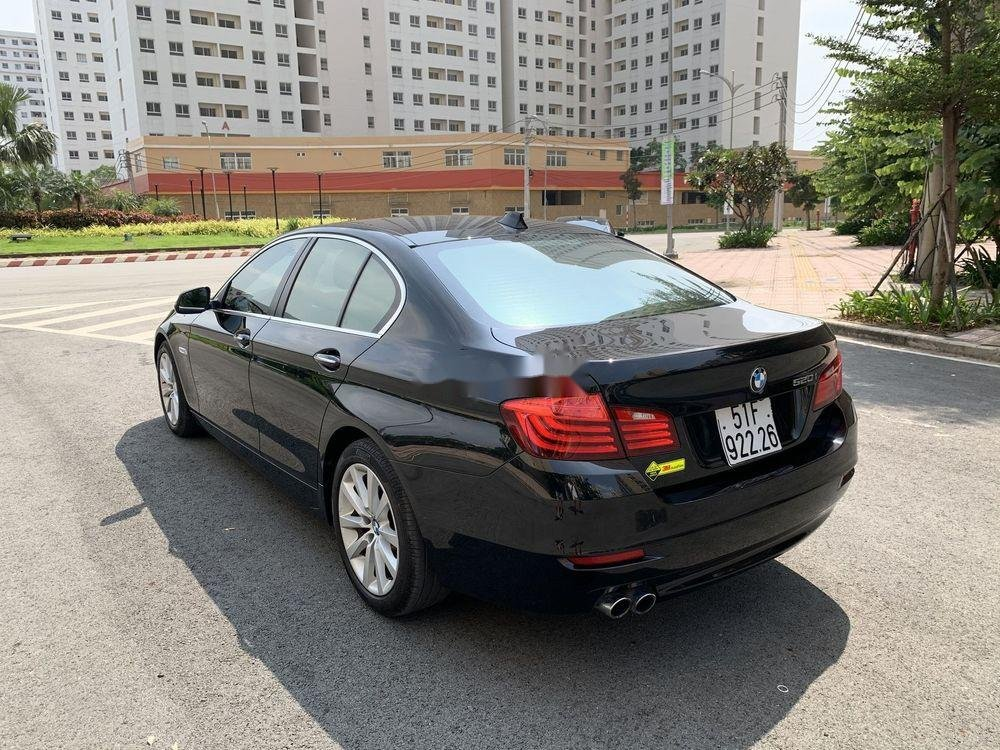 Bán BMW 5 Series 520i Facelift  năm 2016, màu đen, nhập khẩu (3)