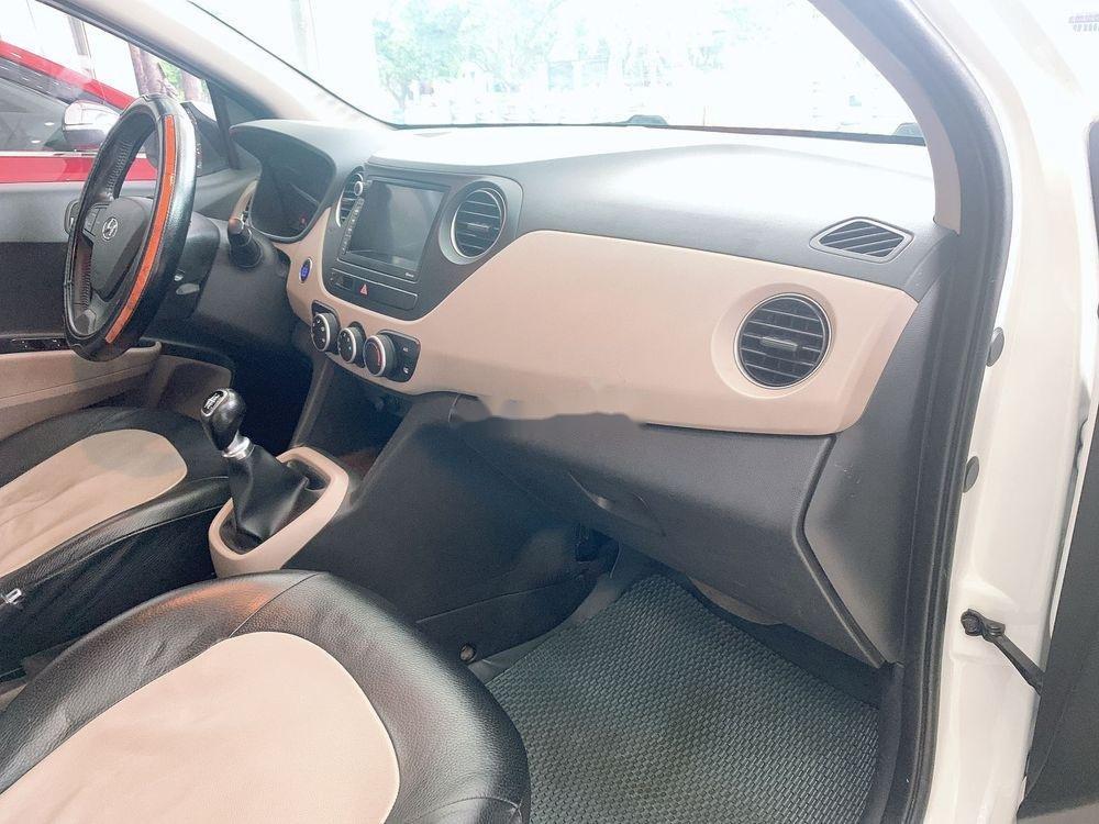 Cần bán lại xe Hyundai Grand i10 MT đời 2017, màu trắng, giá tốt (6)