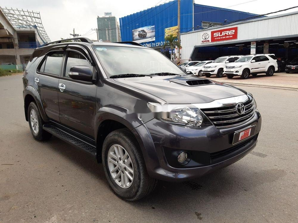 Cần bán Toyota Fortuner G sản xuất 2014, màu xám số sàn (2)
