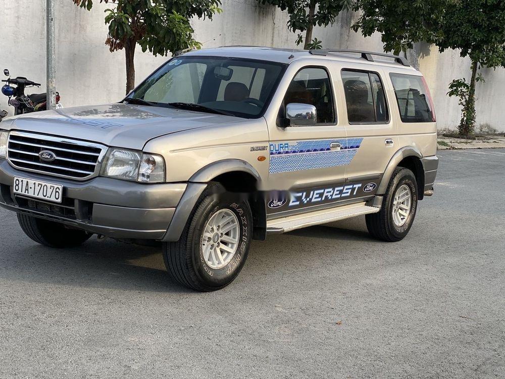 Bán xe Ford Everest MT đời 2005, nhập khẩu (1)