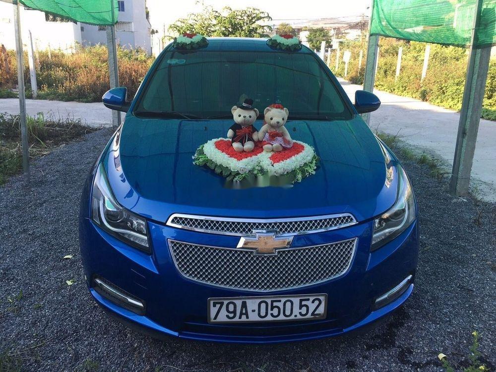 Cần bán Chevrolet Cruze đời 2011, màu xanh lam chính chủ xe nguyên bản (5)