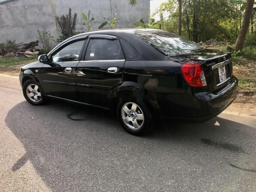 Bán Daewoo Lacetti sản xuất 2005, màu đen, giá tốt (6)