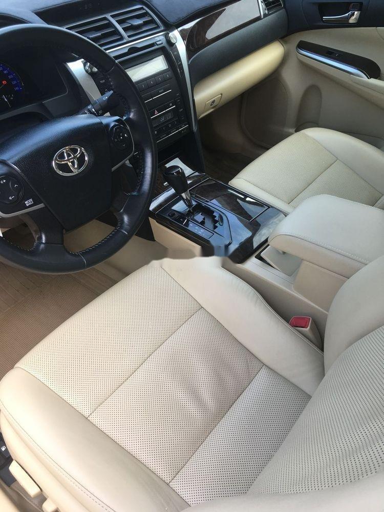 Bán Toyota Camry 2.5G đời 2016, màu đen chính chủ  (4)