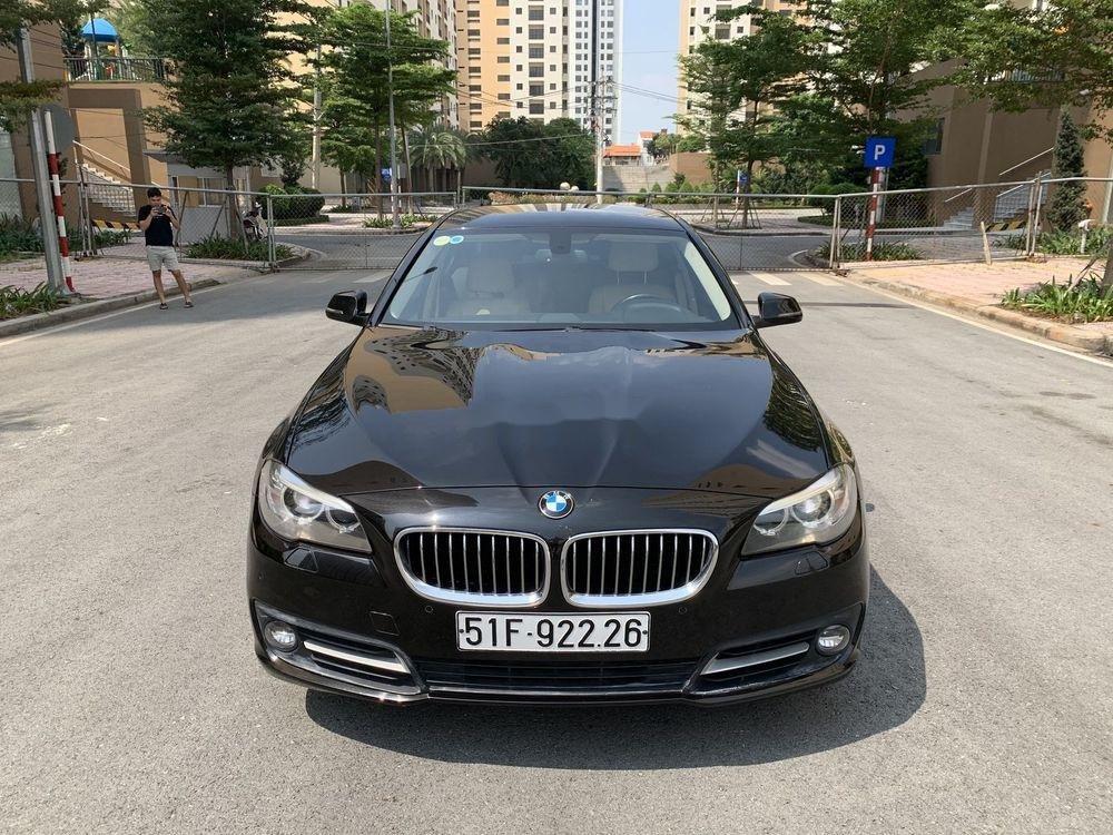 Bán BMW 5 Series 520i Facelift  năm 2016, màu đen, nhập khẩu (1)