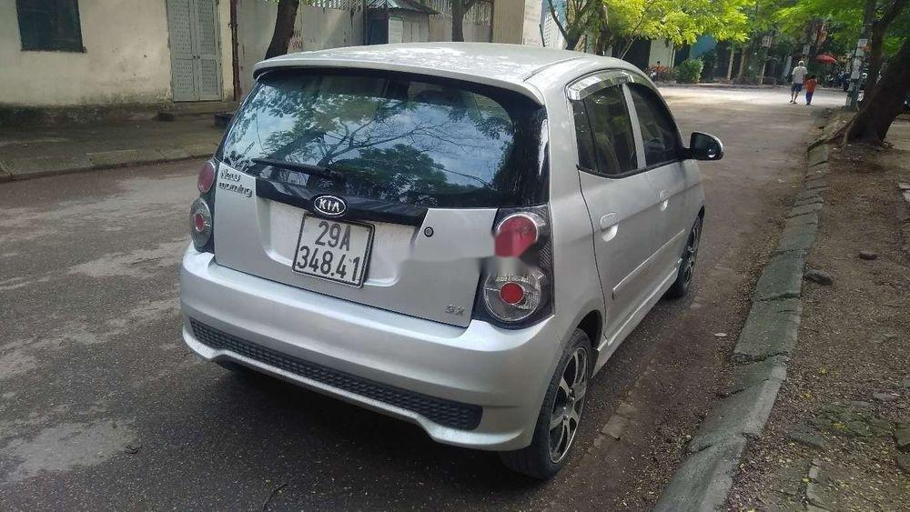 Cần bán lại xe Kia Morning đời 2011, màu bạc giá cạnh tranh (2)