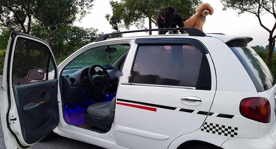 Bán xe Daewoo Matiz đời 2007, màu trắng xe nguyên bản (2)
