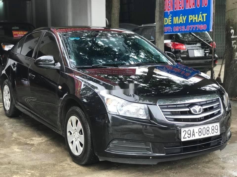 Cần bán xe Daewoo Lacetti đời 2009, màu đen, xe nhập (1)
