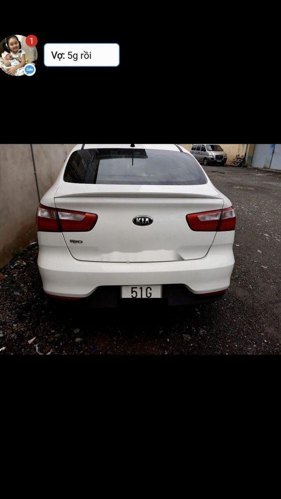 Bán Kia Rio AT sản xuất năm 2017, màu trắng, nhập khẩu nguyên chiếc, 470tr (2)