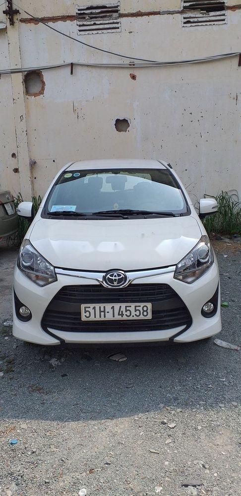 Cần bán xe Toyota Wigo 1.2 MT năm 2019, màu trắng, xe nhập số sàn, giá tốt (1)
