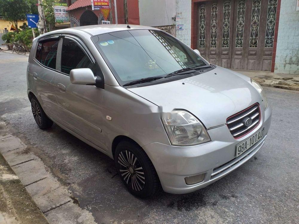 Bán xe Kia Morning sản xuất 2007, màu bạc, xe nhập, giá tốt (5)