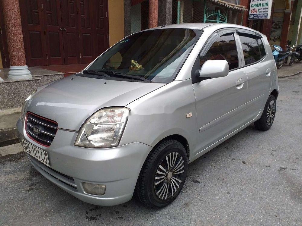 Bán xe Kia Morning sản xuất 2007, màu bạc, xe nhập, giá tốt (2)