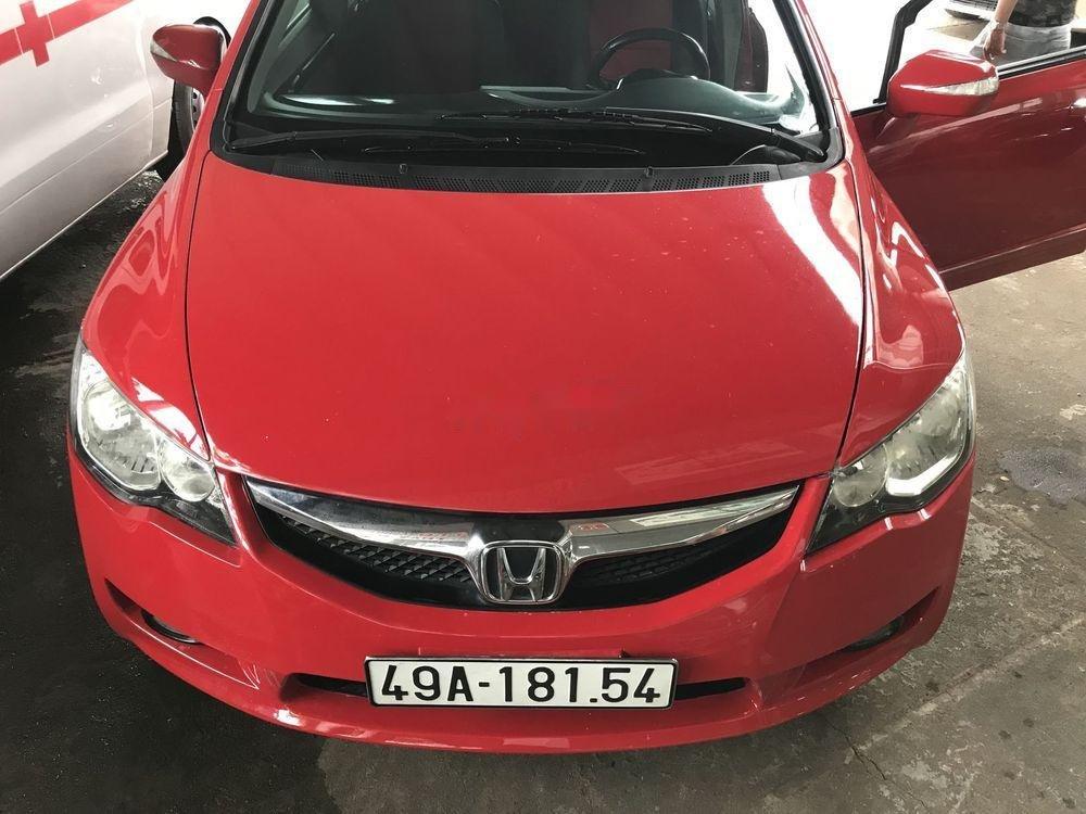 Xe Honda Civic 2.0 AT năm sản xuất 2008, màu đỏ số tự động, giá 339tr (1)