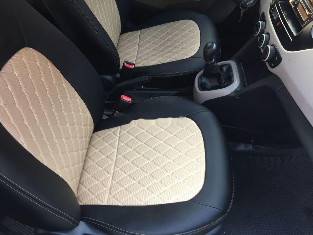 Bán ô tô Hyundai Grand i10 MT sản xuất năm 2014, màu trắng, nhập khẩu nguyên chiếc (5)
