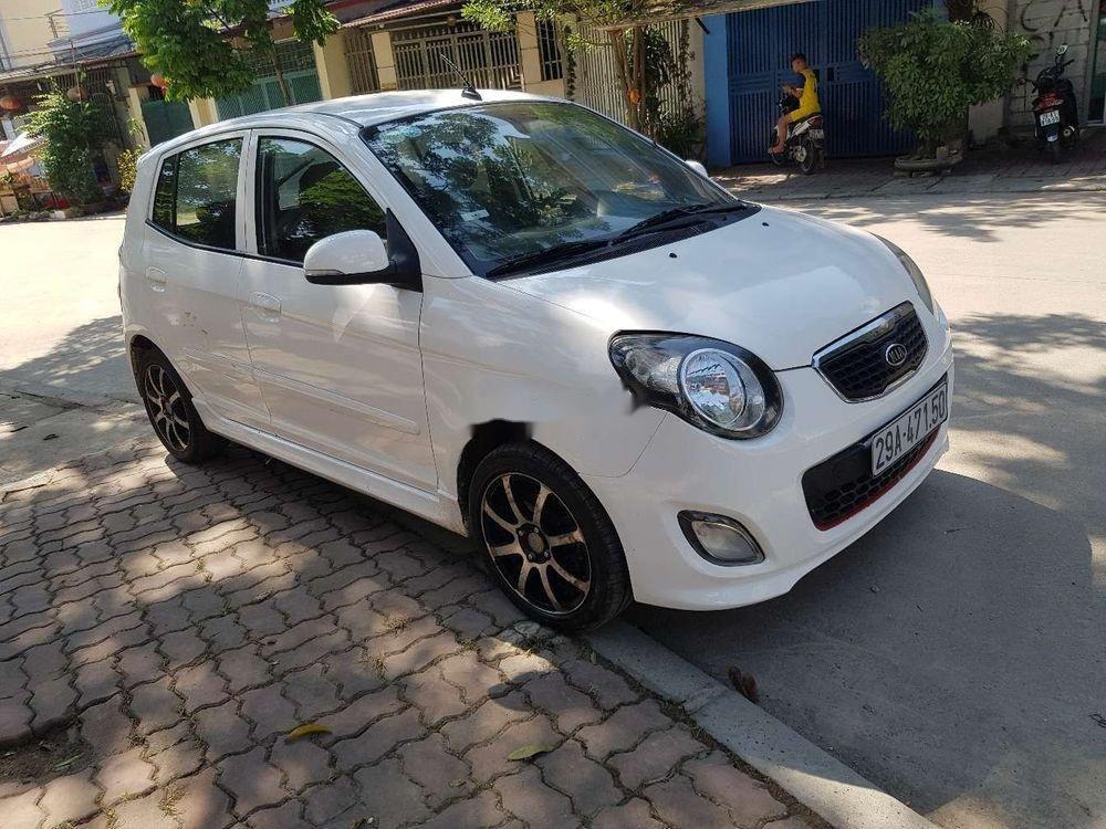 Bán xe Kia Morning MT đời 2011, màu trắng chính chủ, giá tốt (1)