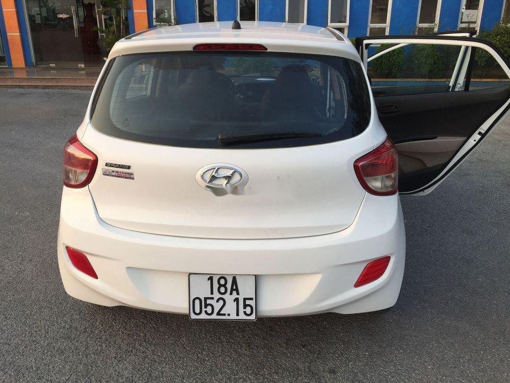 Bán ô tô Hyundai Grand i10 MT sản xuất năm 2014, màu trắng, nhập khẩu nguyên chiếc (3)
