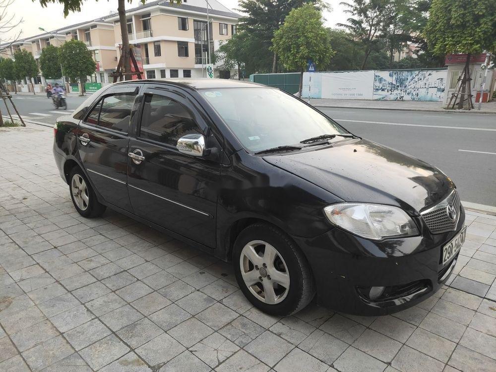 Cần bán Toyota Vios đời 2007, màu đen, nhập khẩu (1)