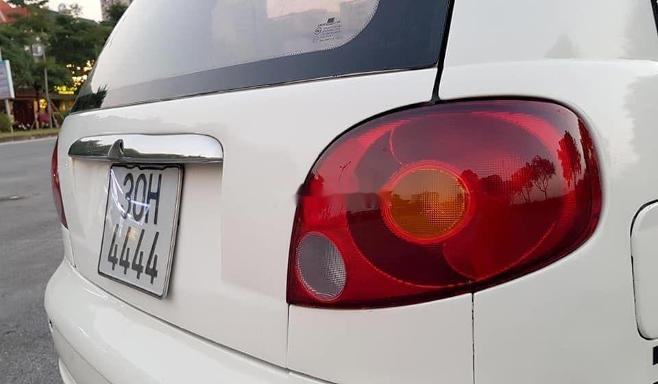 Bán xe Daewoo Matiz đời 2007, màu trắng xe nguyên bản (5)