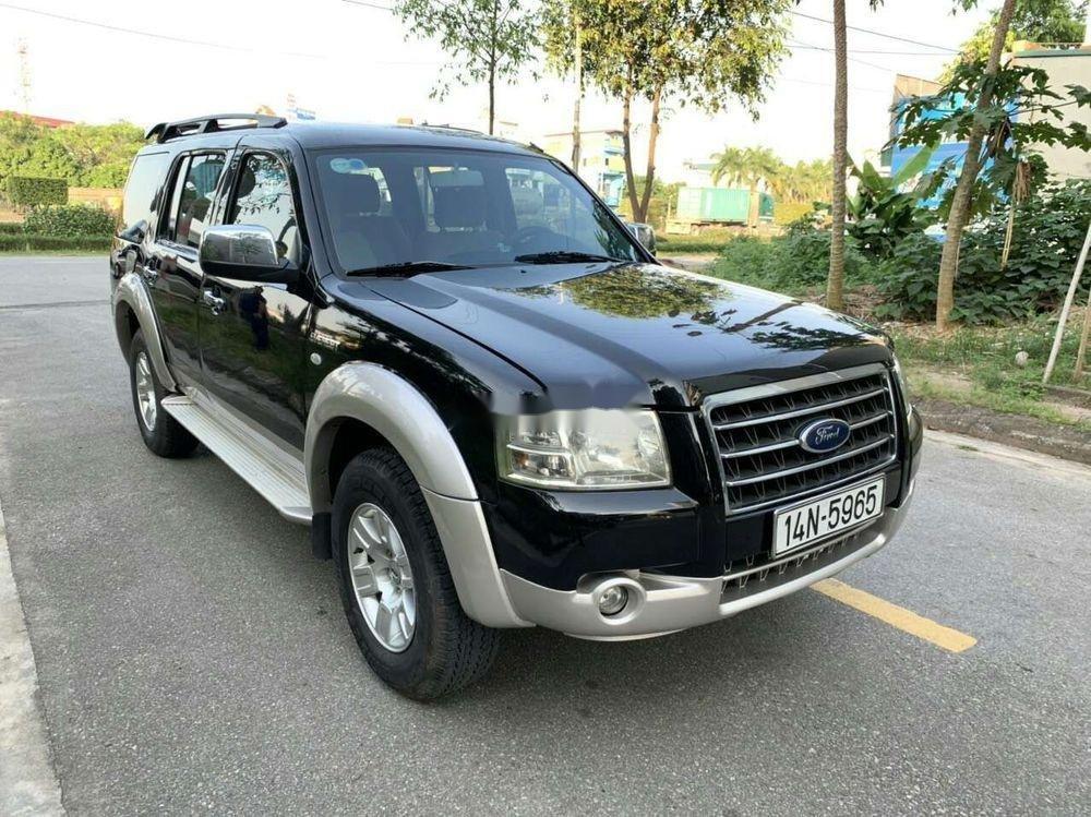Bán xe Ford Everest đời 2008, màu đen, nhập khẩu nguyên chiếc chính chủ giá tốt (1)