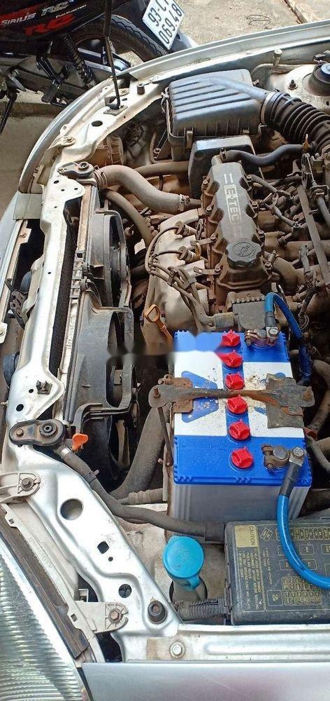 Bán Daewoo Lanos MT năm 2003, màu bạc, xe nhập (5)