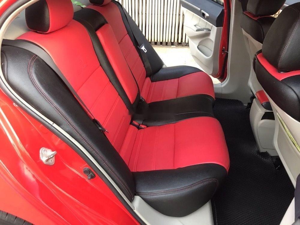 Cần bán lại xe Honda Civic năm 2008, màu đỏ xe gia đình, 320 triệu (4)