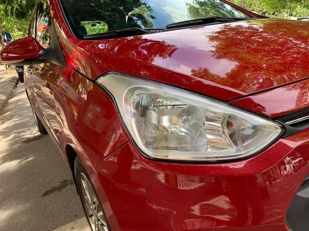 Cần bán lại xe Hyundai Grand i10 1.2AT năm 2015, màu đỏ, nhập khẩu (1)