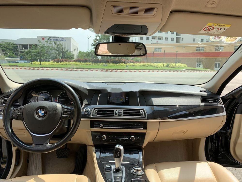 Bán BMW 5 Series 520i Facelift  năm 2016, màu đen, nhập khẩu (9)