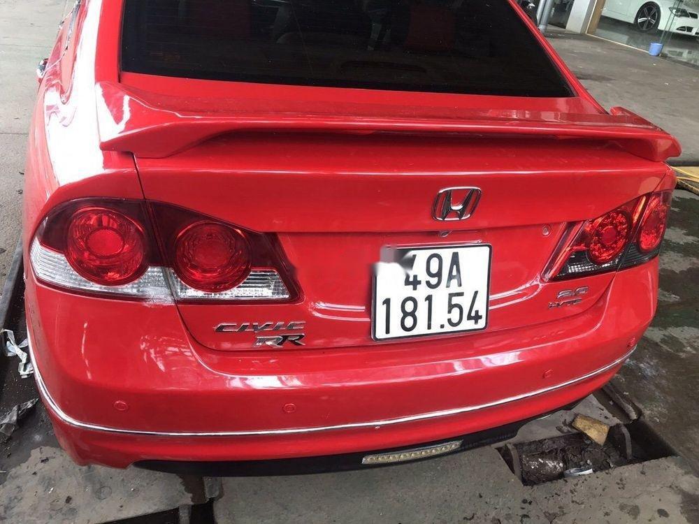 Xe Honda Civic 2.0 AT năm sản xuất 2008, màu đỏ số tự động, giá 339tr (8)