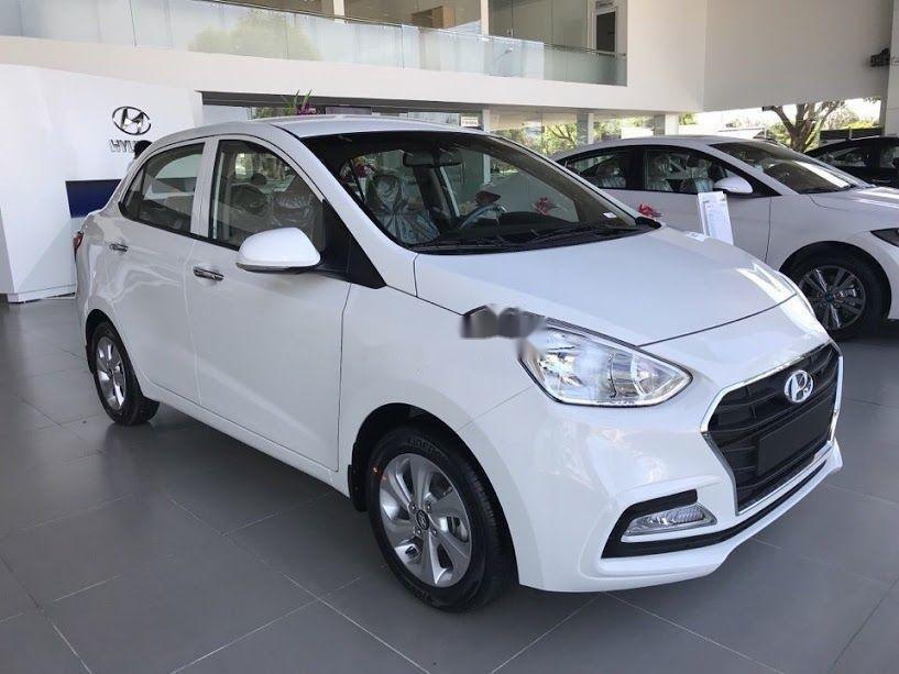 Cần bán xe Hyundai Grand i10 1.2MT sản xuất năm 2019, màu trắng, xe nhập (2)