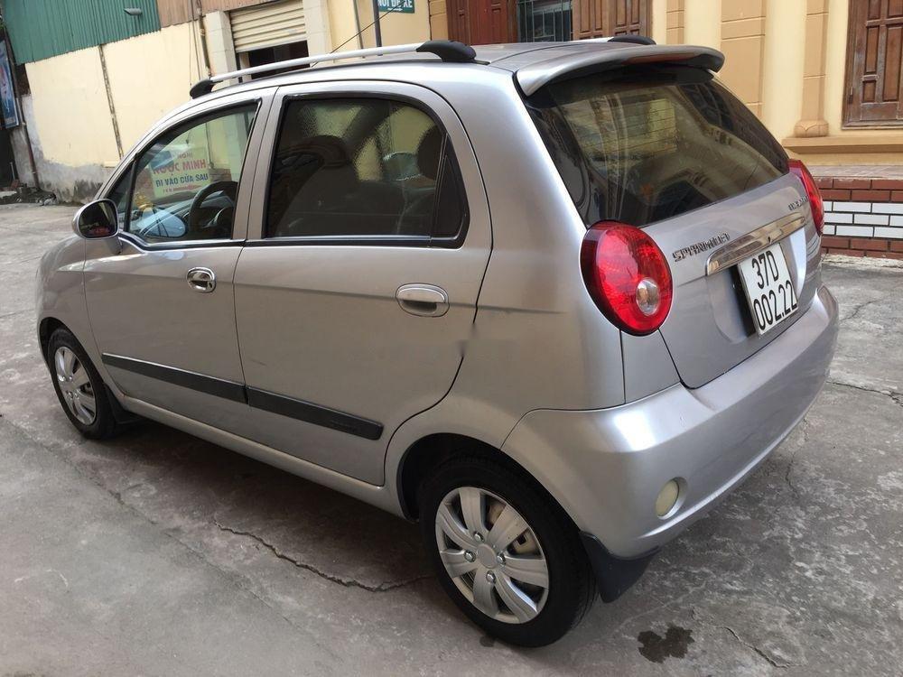 Cần bán Chevrolet Spark đời 2013, màu bạc chính chủ, giá tốt (6)