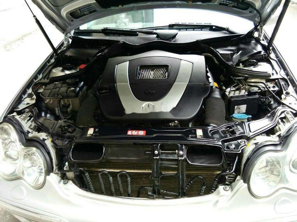 Cần bán gấp Mercedes đời 2007, màu bạc, xe nhập chính chủ (4)