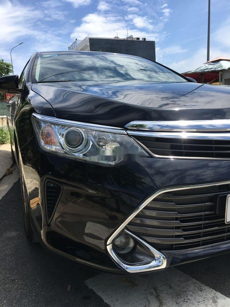 Bán Toyota Camry 2.5G đời 2016, màu đen chính chủ  (8)