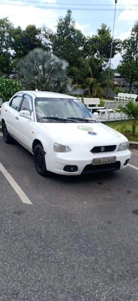 Bán Suzuki Balenno đời 2004, màu trắng, nhập khẩu nguyên chiếc xe gia đình, giá tốt (12)