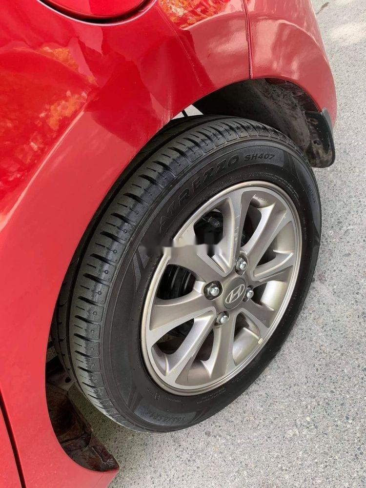 Cần bán lại xe Hyundai Grand i10 1.2AT năm 2015, màu đỏ, nhập khẩu (3)