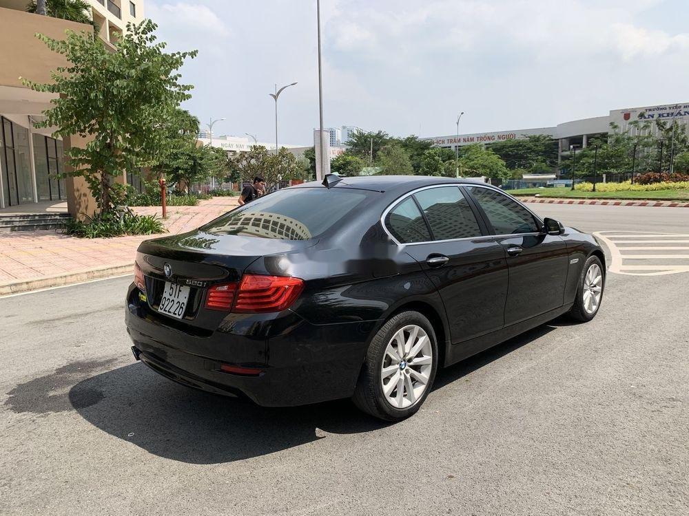 Bán BMW 5 Series 520i Facelift  năm 2016, màu đen, nhập khẩu (5)