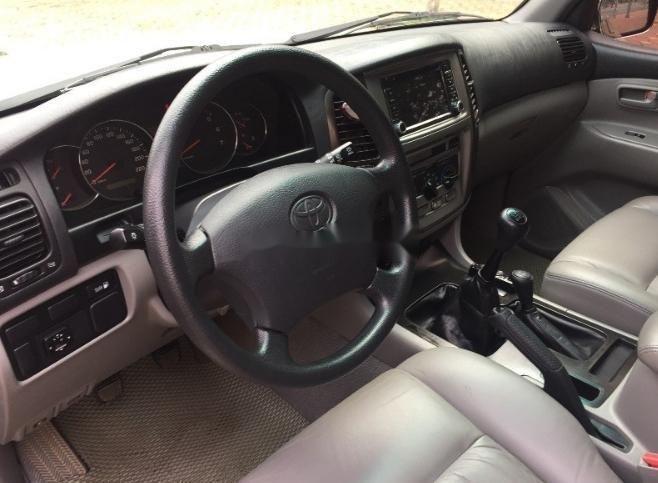 Bán Toyota Land Cruiser 2006, màu vàng số sàn (5)