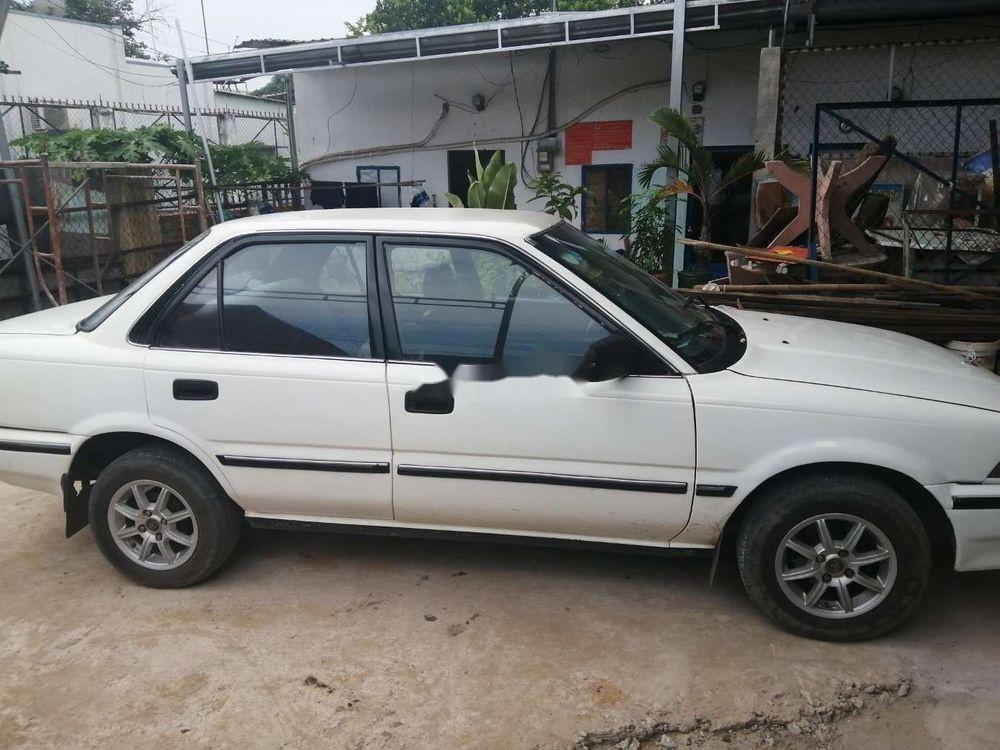 Bán Toyota Corolla sản xuất 1987, màu trắng (1)