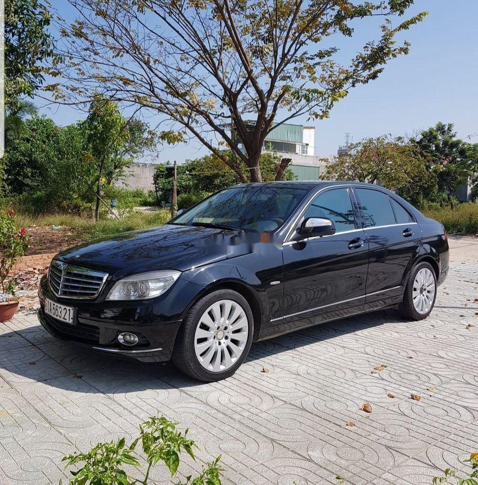 Cần bán gấp Mercedes C200 đời 2007, màu đen, giá tốt (5)