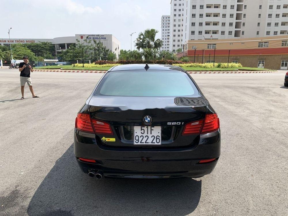 Bán BMW 5 Series 520i Facelift  năm 2016, màu đen, nhập khẩu (4)