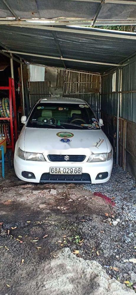 Bán Suzuki Balenno đời 2004, màu trắng, nhập khẩu nguyên chiếc xe gia đình, giá tốt (1)
