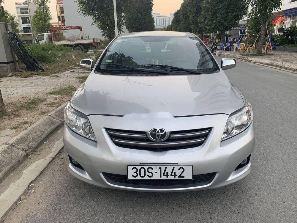 Cần bán lại xe Toyota Corolla Altis sản xuất 2008, màu bạc, nhập khẩu còn mới, giá tốt (1)