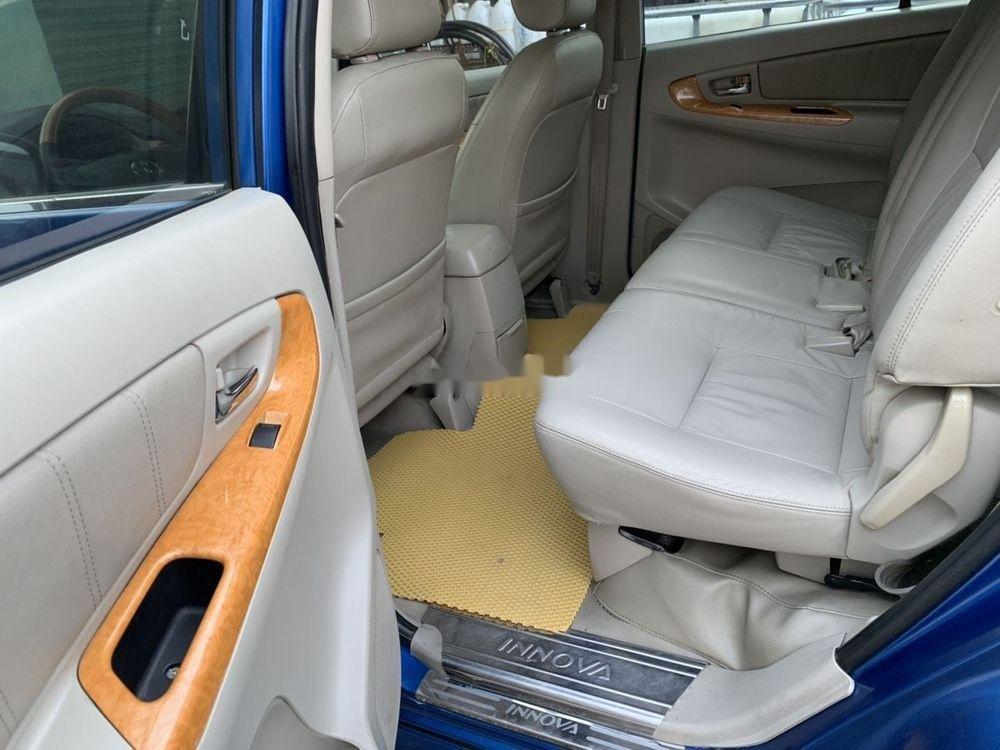 Cần bán lại xe Toyota Innova sản xuất năm 2008, màu xanh lam (7)