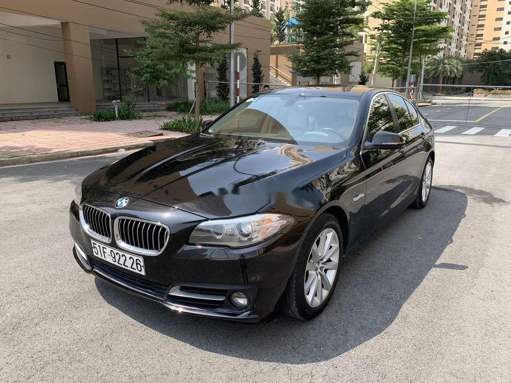 Bán BMW 5 Series 520i Facelift  năm 2016, màu đen, nhập khẩu (2)
