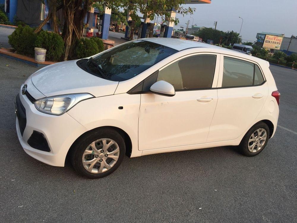 Bán ô tô Hyundai Grand i10 MT sản xuất năm 2014, màu trắng, nhập khẩu nguyên chiếc (1)