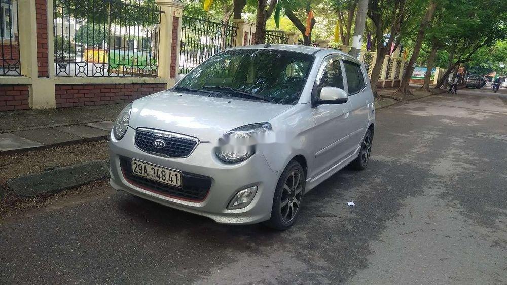 Cần bán lại xe Kia Morning đời 2011, màu bạc giá cạnh tranh (4)