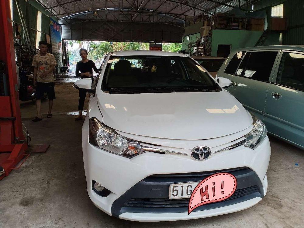 Bán Toyota Vios đời 2017, màu trắng, giá tốt (1)