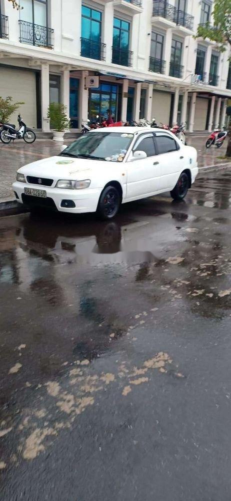 Bán Suzuki Balenno đời 2004, màu trắng, nhập khẩu nguyên chiếc xe gia đình, giá tốt (11)