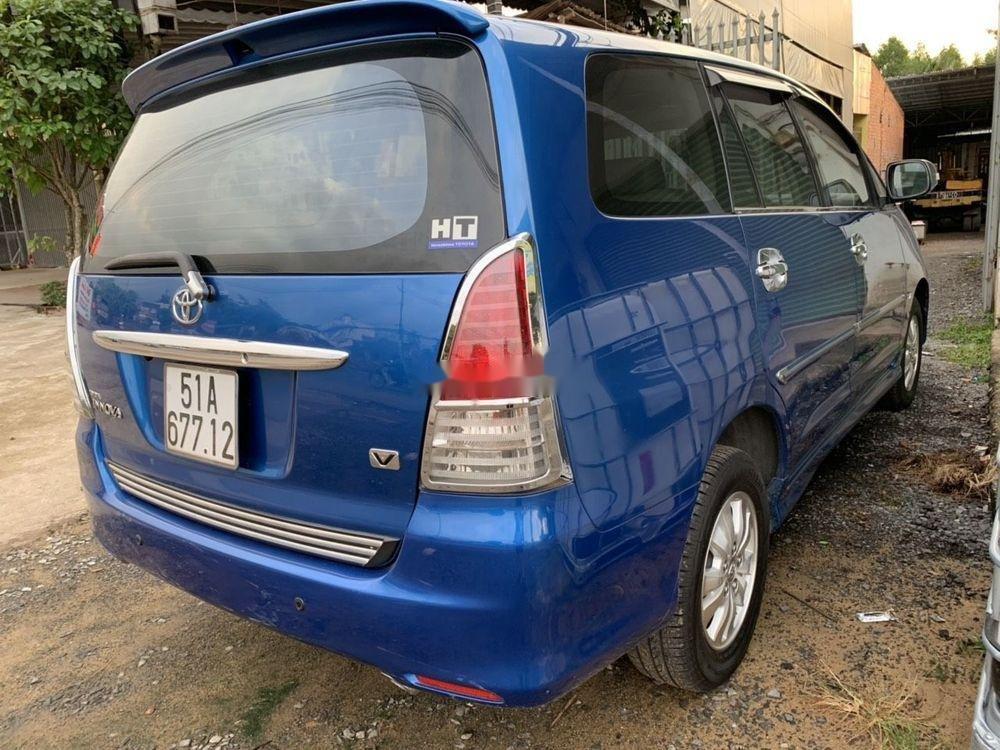Cần bán lại xe Toyota Innova sản xuất năm 2008, màu xanh lam (2)