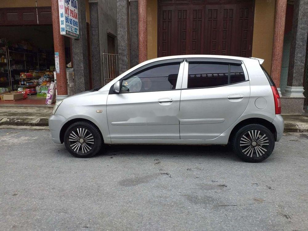 Bán xe Kia Morning sản xuất 2007, màu bạc, xe nhập, giá tốt (4)