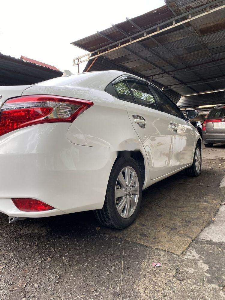 Bán Toyota Vios 1.5MT  đời 2016, màu trắng xe gia đình (4)