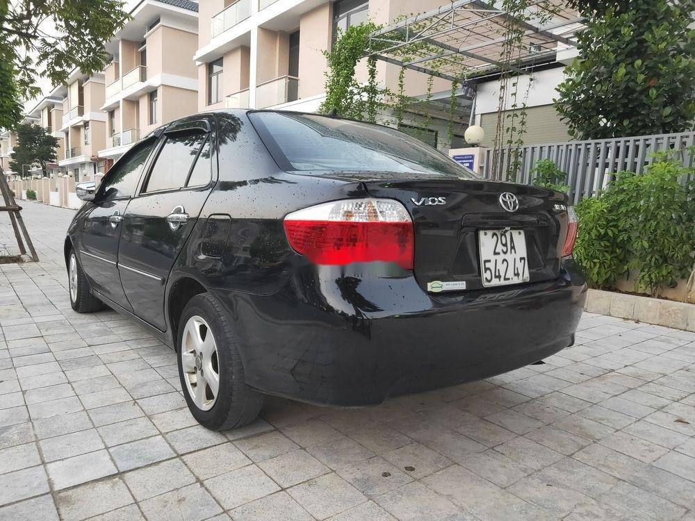 Cần bán Toyota Vios đời 2007, màu đen, nhập khẩu (6)